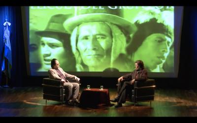 Jorge Coscia presenta a Jorge Sanjinés