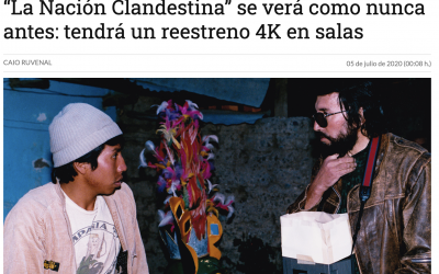 """Opinión: """"La Nación Clandestina"""" se verá como nunca antes: tendrá un reestreno 4K en salas"""